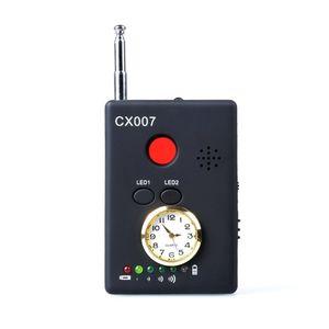 Rivelatore multifunzionale del rivelatore di GSM GPS WiFi del cercatore del telefono della macchina fotografica del segnale di multifrequenza del rivelatore di frequenza della gamma completa CX007