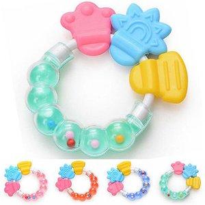 Gros- 2017 nouveau bébé anneau de dentition infantile anneau bébé hochets mordre jouet enfant jouet mignon bébé anneau de dentition