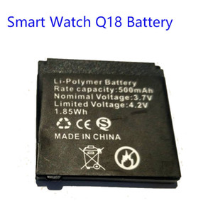 2017 new Original 500mAh Battery Smart Watch wristwatch phonewatch Q18 Backup replacement charging battery for Q18