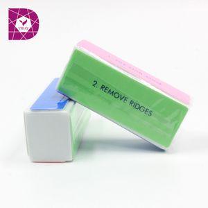 Wholesale- 1pcs Nail Art Polisher 4 Way Shiner Sanding Buffer Polishing Block Manicure File Nails Art Tips Tools