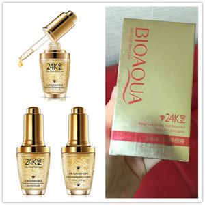 DHL BIOAQUA 24k Gold Skin Care Face Cream Products Instantly Face Lift Skin Care Products TOP Quality