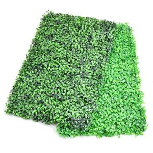 Comercio al por mayor DIY Artificial Lawn Turf Green Grass Césped Jardín Market Store Decoración de La Pared de la Casa Adornos Decorativos de Plástico Césped 63 * 44 cm