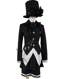 Black Butler Magician Ciel Phantomhive Band Cosplay Set 7 PCS