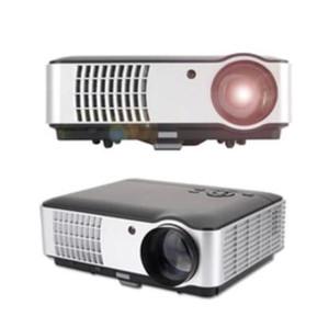 La nuova formazione aziendale Rigal RD-806 Full HD 1080p, proiettore per teatro a LED per la casa, viene fornito con la funzione AV VGA TV HDMI