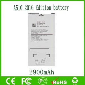 Original OEM batería EB-BA510ABE para Sam A5 2016 A510 A510F 2900mAh envío gratuito venta al por mayor