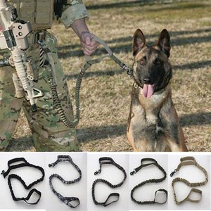 Tactical Hundeleine Military Training Tactical Bungee Leine Combat US Amry Hundeleine Halsband Nylon Coyote 5 Farben