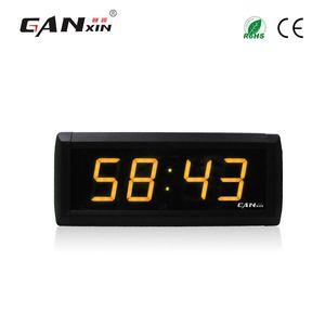[Ganxin] 1.8 polegada display led relógio de parede design moderno temporizador de contagem regressiva vermelho ultra brilho luz tubos usb led relógio