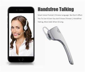 Dacom C-Blue1 Kablosuz Bluetooth Araç Araç Kulaklık Desteği NFC Mikrofon Şarj Dock iPhone Samsung için Stereo Handfree Kulaklık