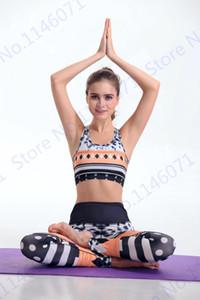 Mode Femmes Yoga Pantalon Abstraction géométrique Sport Collants Jogging extensible Jogger Leggings Gymnastique Sexy Skinny Pantalon