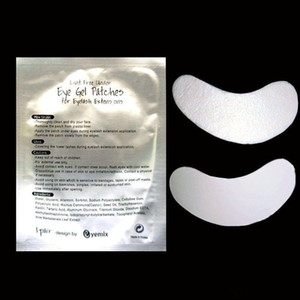 Wholesale-New thinest 60 pairs silk eye pads under eye patch eyelash extension lint free eye pads