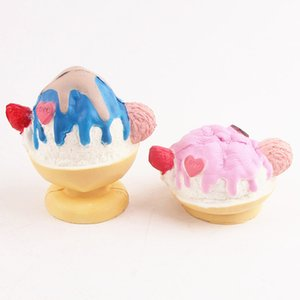 2017 New 8.5cm Kawaii Squishy Ice Cup Cream Slow Rising Kid Toys With Package Free Shipping