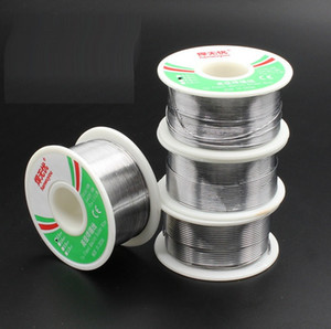 100g 63 37 Tin 0.5mm 0.6mm 0.8mm 1.0mm Rosin Core Tin Lead 0.8mm Rosin Roll Flux Solder Wire Reel High Quality 55*28mm 100 pieces up