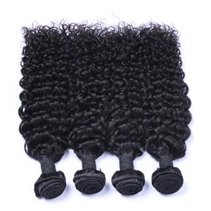 9A virginal del pelo brasileño malayo peruano mongol camboyano indio sin procesar Jerry brasileño rizado paquetes de pelo mejor armadura del cabello humano