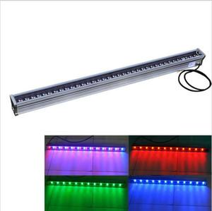 36 W RGB LED Arruela Da Parede De Alta Potência Ao Ar Livre iluminação de iluminação de paisagem IP65 À Prova D 'Água DC12V AC85-265V Conduziu holofotes