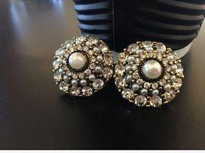 più colore crystal pearl pearl earings della signora (88) gvbhtht
