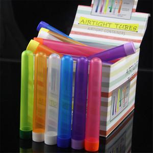 48pcs Doob Tubes cigarro armazenamento Cones rolamento tubo de papel Airtight Embalagem Tube Vial Tubo Doob Caixa impermeável para 78mm rolamento Cone