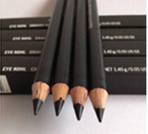 10 PCS 무료 사은품 + 무료 배송 HOT 고품질 베스트 셀러 신상품 블랙 아이 라이너 펜슬 아이 콜 박스 1.45g