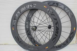 Самый лучший продавая космические передняя 60 мм и сзади 88 мм углерода велосипед колеса 700C 23 мм ширина дорожный велосипед с Боб зеркальные 60+88 мм углерода колеса бесплатная доставка