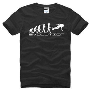 Nouveau Style D'été Scuba Diver Evolution T Shirts Hommes Coton À Manches Courtes Cool Imprimé T-Shirt Hommes Top Qualité Mâle Tops T-shirts