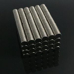 Gros- 1set 100pcs 4 mm x 1 mm Petit tour néodyme disques magnétiques Dia N35 fort rare super puissant aimant la Terre