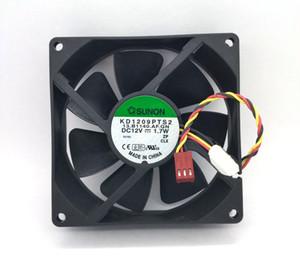 Yeni Orijinal SUNON KD1209PTS2 DC12V 1.7 W 1.6 W 90 * 90 * 25 MM 3 Lines Bilgisayar soğutma fanı