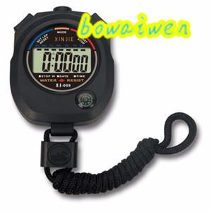 Wholesale-bowaiwen #0057 Waterproof Digital LCD Stopwatch Chronograph Timer Counter Sports Alarm