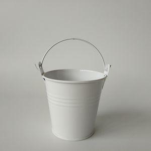 D7.5 * H7.5CM Bonsai bacony Flowerpots Mini-Pflanzer Hochzeit Eimer Metall Schokolade Eimer dekorative Pflanzer und Topf