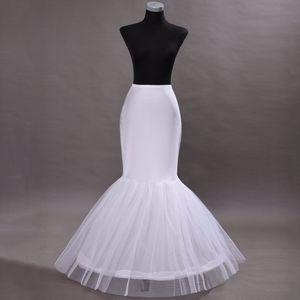 Heißer Verkauf Meerjungfrau Petticoat / Beleg 1 Band-Knochen-elastisches Hochzeits-Kleid Petticoat-Krinoline Jupon Mariage Freies Verschiffen