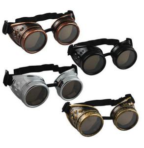 جملة جديدة وصول الرجال النساء نظارات خمر Steampunk نظارات الشرير نظارات شمسية لحام سايبر الشرير القوطي تأثيري