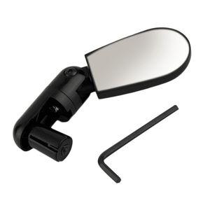 Wholesale- New Mini Rotate Flexible Bike Bicycle Cycling Rearview Handlebar Mirror free shipping