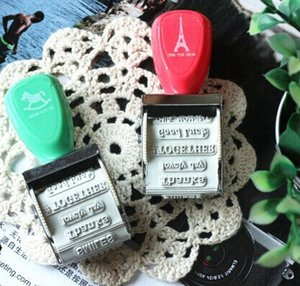 NEW! Blessing Words Roller Stamp, Thanks ,good luck..... ZAKKA Hand Rolling Stamp, 2 design series