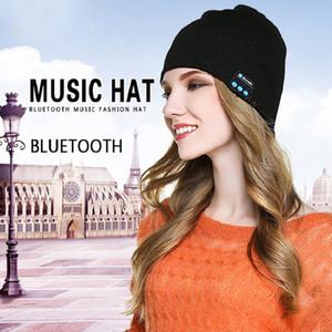 Neue Bluetooth-Musikhüte stricken Wollmützenhüte Sportmusik im Freien kuppelt 6 Farben freies Verschiffen