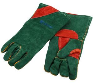 Soudeur en peau de vache soudant des gants de protection du travail portable plus longtemps