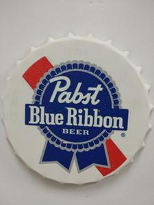 البيرة القهوة الشريط المعادن جولة الصفحة الرئيسية تسجيل شريط كاب تصميم pabst كاب زجاجة المعادن الأزرق المشارك البيرة الحرفية للقصدير بار البيرة مطعم متجر ستيوج