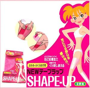Sauna Slimming Leg Belt Wrap Thigh Calf Lose Leg Shaper Weight Body Shape Up Slim Belt 200pcs(100packs) LC625-1