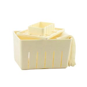 Tofu press mold maker plastic material homemade free cloth mat Bakeware Moulds kitchen tools utensil