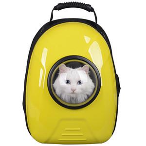 Carrier sac à dos espace chat / chien transporteur Capsule sac transporteur chats et chien en plein air chiot en dehors de Portable femmes chat bande dessinée sacs fournitures