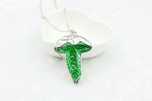 Arwen's Evenstar Elf Princess Brooch Pendant Necklace Lord Of Rings Jewelry Hobbit Elven Leaf Necklaces