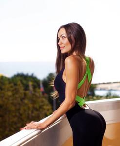 Nouveau design Femme Combinaisons étroites Jambières superbes Pantalons de yoga Sports de course et de sport