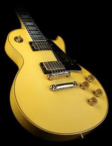 Personalizzato Randy Rhoads Crema firmata Giallo Metal Legend Guitar Electric Guitar Ebony Dingerboard, Block Block Block Inlay, hardware d'oro