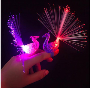 공작 글로우 라이트 링 토치 링 조명 플래시 빔 라이트 할로윈 파티가 조명 장난감 손가락 반지 빛 LED 손가락 LED