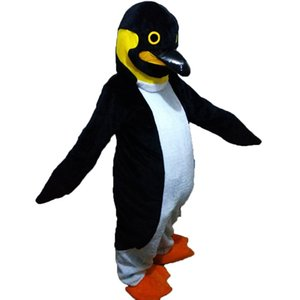 costume de mascotte pingouin EMS livraison gratuite, fête de carnaval de haute qualité Fantaisie en peluche mascotte taille adulte.