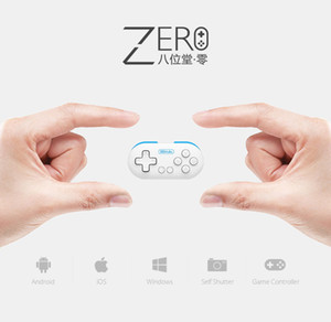 Original 8 ZERO 8bitdo Ultra-portátil mini controlador inalámbrico Bluetooth para iPhone ios windows MAC OS VR anteojos vr caja