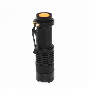 KC Fire Mini Portable 3 modalità di alluminio Torcia 3,5W 350LM CREE XPE Q5 LED Flashlight Messa a fuoco regolabile Zoom Flash Light Lampada SK68