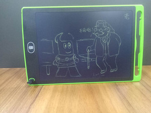 """8.5 인치 LCD 디지털 쓰기 그리기 태블릿 보드 전자 작은 칠판 종이없는 사무실 8.5 """"필기 패드 아이를위한 스타일러스 펜"""