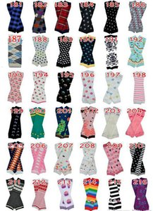 72Pair Baby Chevron Leg Warmers Infant Christmas Leg Warmer Adult Arm warmers Zig-zag Leggings 318Styles Choose freely