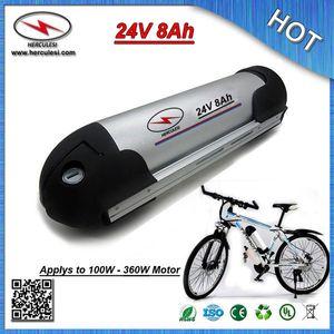 Batería de litio 24V 8Ah con batería de agua recargable al por mayor con batería de agua caja de aluminio 18650 celda 15A BMS