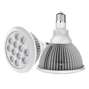 E27 بقيادة الأضواء المتنامية داخلي مصنع ضوء LED PAR لمبة لحديقة الدفيئة ، شرفة والأسرة المائية 12W 24W 9W