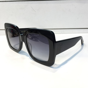 0083 Popüler Marka Bayan Güneş Kare Yaz Stili Tam Çerçeve Üst Kalite UV Koruma 0083S Karışık Renk kutusu gel güneş gözlüğü
