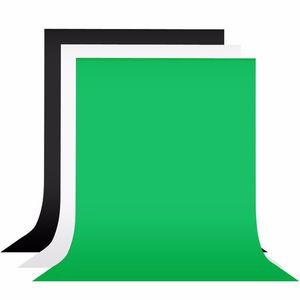 1.8x3m черный белый зеленый экран 100% хлопок фотографии фон фотографический фон для студии Фото Prop